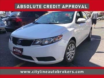 2011 Kia Forte for sale at Cityline Auto Brokers in Malden MA