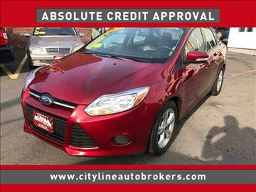 2014 Ford Focus for sale at Cityline Auto Brokers in Malden MA