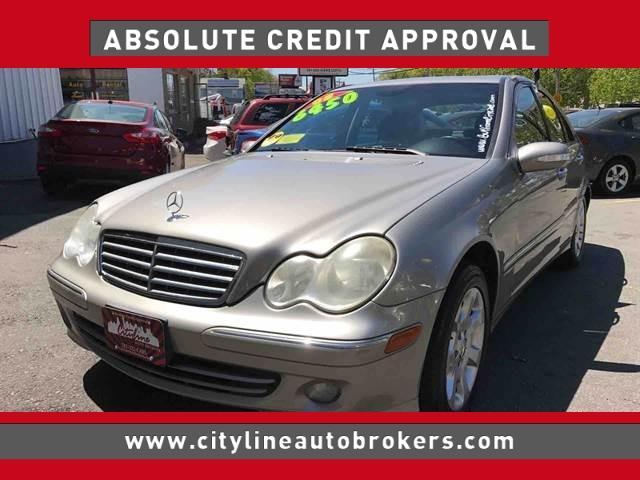 2005 Mercedes-Benz C-Class for sale at Cityline Auto Brokers in Malden MA