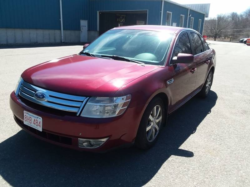 Grace Quality Cars >> 2008 Ford Taurus Sel 4dr Sedan In Phillipston Ma Grace