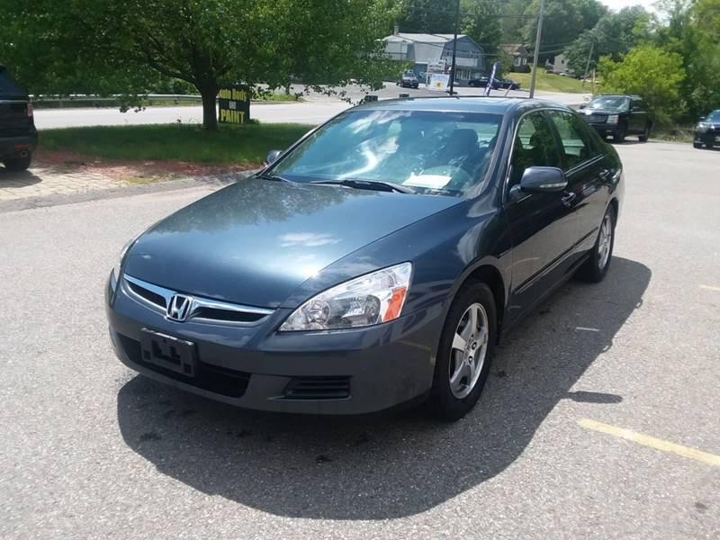 Grace Quality Cars >> 2006 Honda Accord Hybrid 4dr Sedan In Phillipston Ma Grace Quality