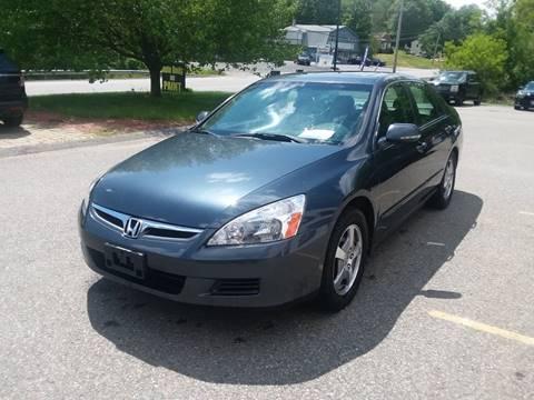 2006 Honda Accord For Sale >> 2006 Honda Accord For Sale In Phillipston Ma