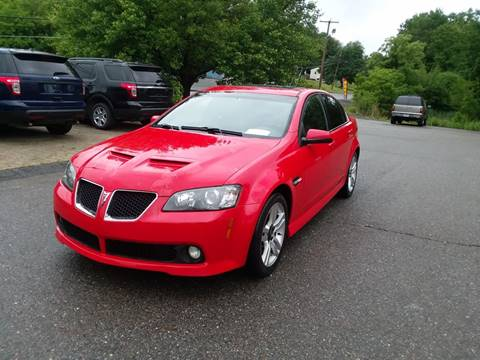 2009 Pontiac G8 for sale in Phillipston, MA