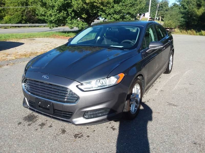 Grace Quality Cars >> 2013 Ford Fusion Se 4dr Sedan In Phillipston Ma Grace