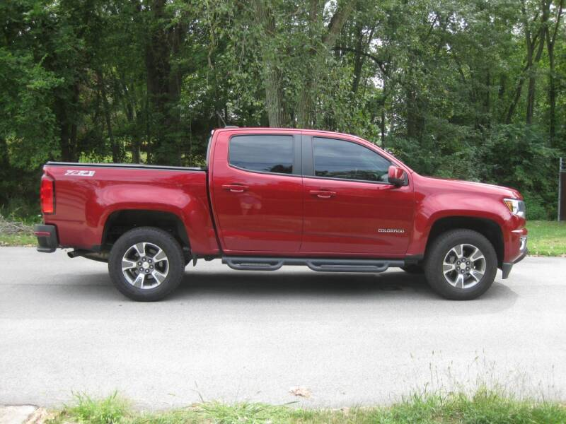 2018 Chevrolet Colorado 4x4 Z71 4dr Crew Cab 5 ft. SB - Schererville IN