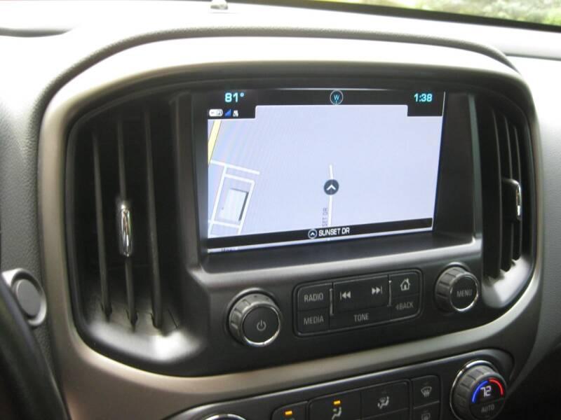 2018 Chevrolet Colorado 4x4 Z71 4dr Crew Cab 5 ft. SB - Schererville IN