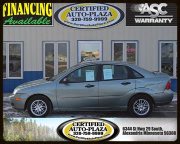 2006 Ford Focus for sale in Alexandria, MN