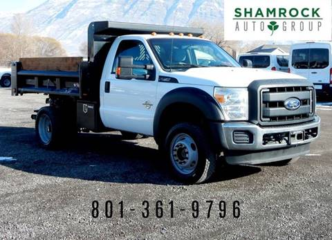 2012 Ford F-550 Super Duty for sale in Pleasant Grove, UT