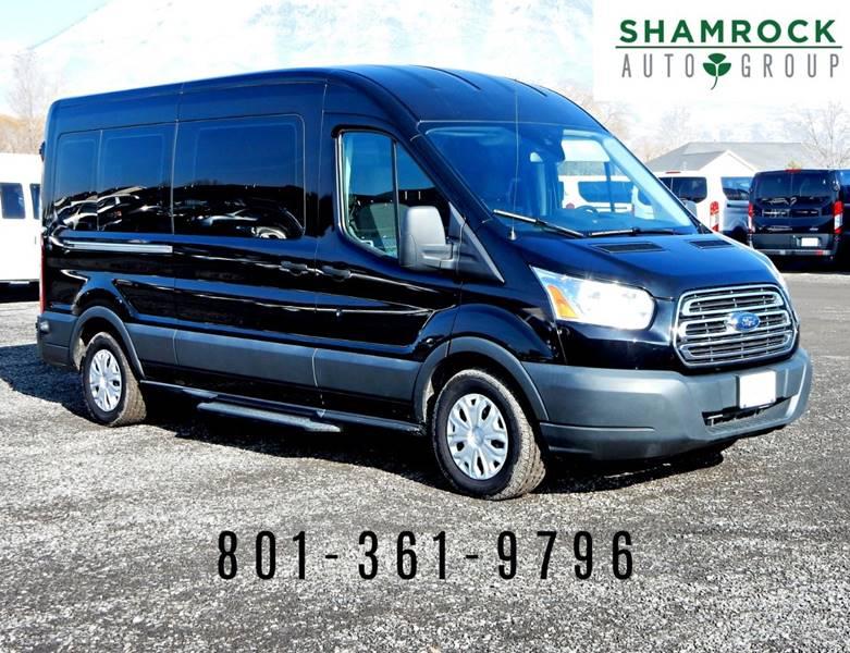 c3f68da0d9 2016 Ford Transit Passenger 350 XLT 3dr LWB Medium Roof Passenger Van w  Sliding Passenger