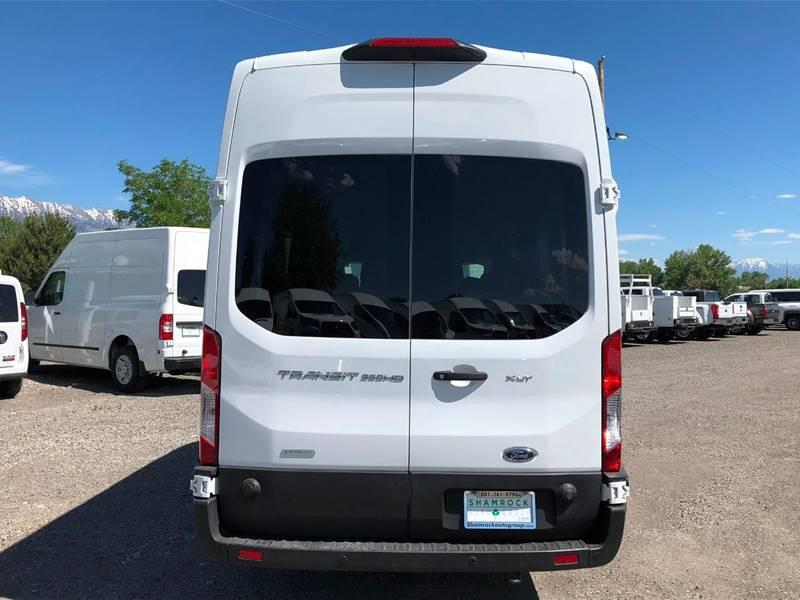 2019 Ford Transit Passenger 350 XLT HD 3dr LWB High Roof DRW