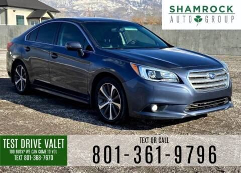 2015 Subaru Legacy for sale at Shamrock Group LLC #1 in Pleasant Grove UT