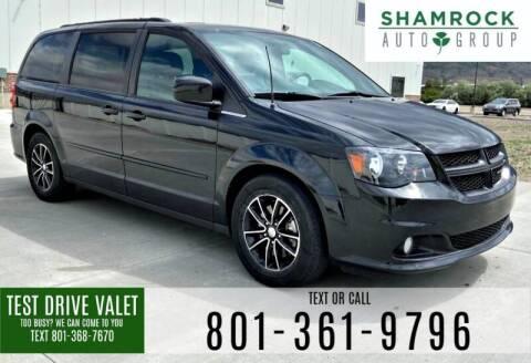 2016 Dodge Grand Caravan for sale at Shamrock Group LLC #1 in Pleasant Grove UT