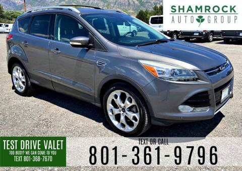 2014 Ford Escape for sale at Shamrock Group LLC #1 in Pleasant Grove UT