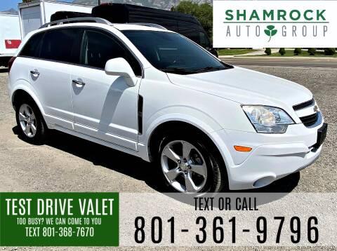 2014 Chevrolet Captiva Sport for sale at Shamrock Group LLC #1 in Pleasant Grove UT