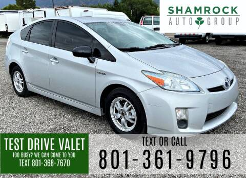 2011 Toyota Prius for sale at Shamrock Group LLC #1 in Pleasant Grove UT