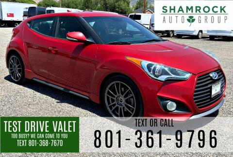 2013 Hyundai Veloster for sale at Shamrock Group LLC #1 in Pleasant Grove UT