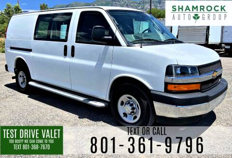 2019 Chevrolet Express Cargo for sale at Shamrock Group LLC #1 in Pleasant Grove UT