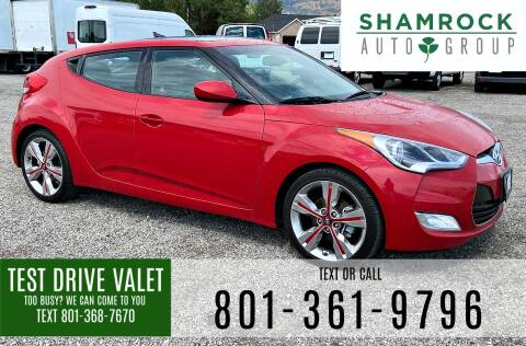 2016 Hyundai Veloster for sale at Shamrock Group LLC #1 in Pleasant Grove UT