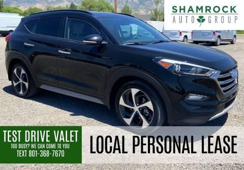 2017 Hyundai Tucson for sale at Shamrock Group LLC #1 in Pleasant Grove UT