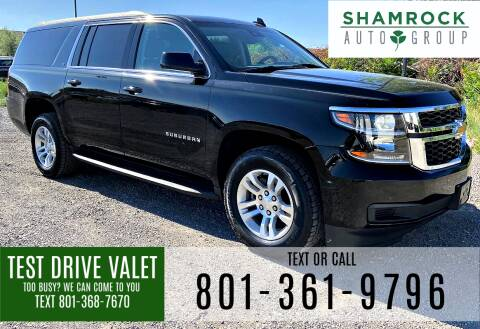 2019 Chevrolet Suburban for sale at Shamrock Group LLC #1 in Pleasant Grove UT