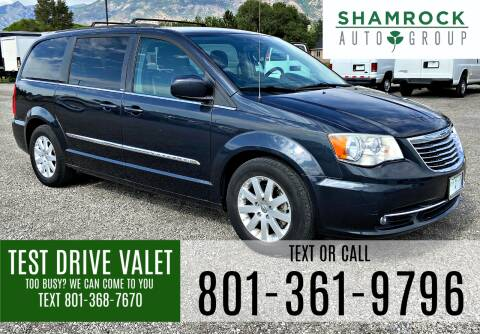 2014 Chrysler Town and Country for sale at Shamrock Group LLC #1 in Pleasant Grove UT