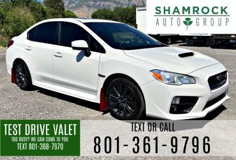 2015 Subaru WRX for sale at Shamrock Group LLC #1 in Pleasant Grove UT