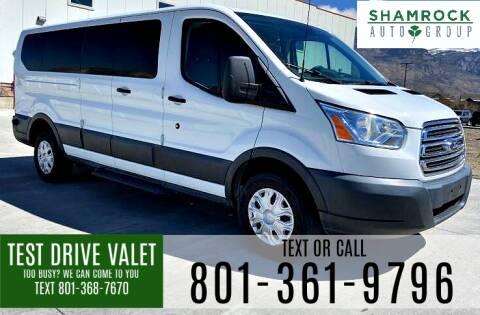 2015 Ford Transit Passenger for sale at Shamrock Group LLC #1 in Pleasant Grove UT