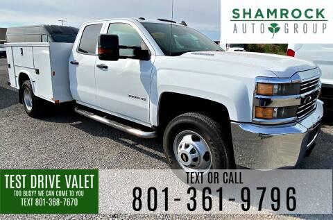 2015 Chevrolet Silverado 3500HD for sale at Shamrock Group LLC #1 in Pleasant Grove UT