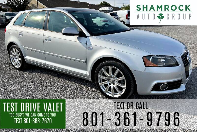 2011 Audi A3 for sale at Shamrock Group LLC #1 in Pleasant Grove UT