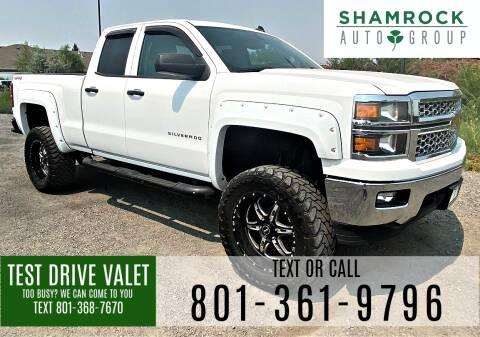2014 Chevrolet Silverado 1500 for sale at Shamrock Group LLC #1 in Pleasant Grove UT