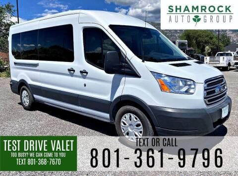 2017 Ford Transit Passenger for sale at Shamrock Group LLC #1 in Pleasant Grove UT