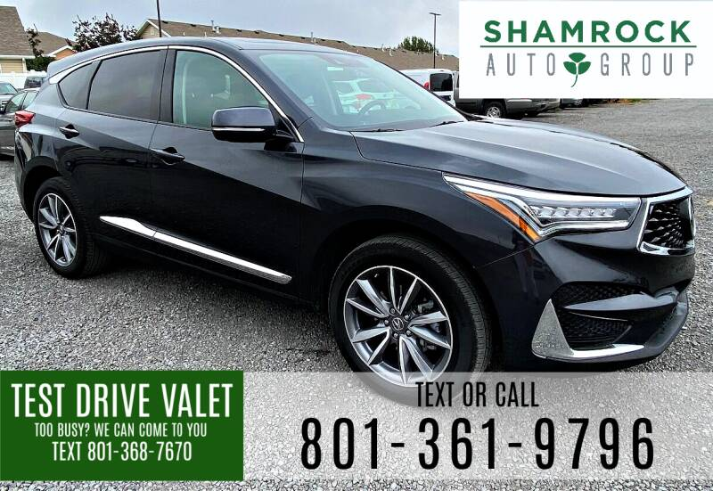 2019 Acura RDX for sale at Shamrock Group LLC #1 in Pleasant Grove UT