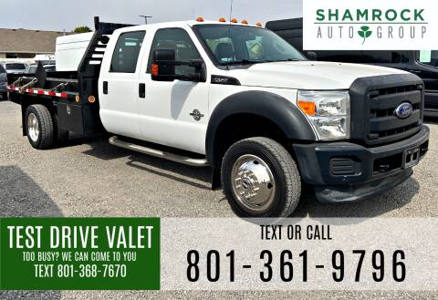 2012 Ford F-550 Super Duty for sale at Shamrock Group LLC #1 in Pleasant Grove UT
