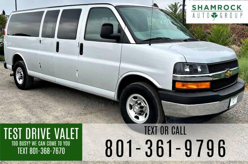 2018 Chevrolet Express Passenger for sale at Shamrock Group LLC #1 in Pleasant Grove UT