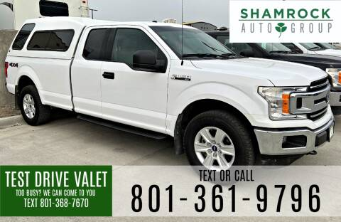 2018 Ford F-150 for sale at Shamrock Group LLC #1 in Pleasant Grove UT