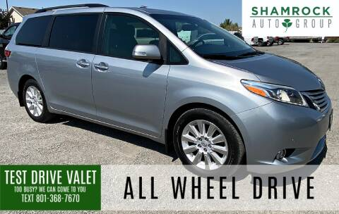 2015 Toyota Sienna for sale at Shamrock Group LLC #1 in Pleasant Grove UT