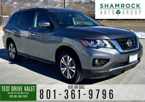 2019 Nissan Pathfinder for sale at Shamrock Group LLC #1 in Pleasant Grove UT