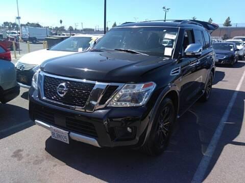 2017 Nissan Armada for sale at Shamrock Group LLC #1 in Pleasant Grove UT