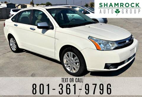 2010 Ford Focus for sale at Shamrock Group LLC #1 in Pleasant Grove UT