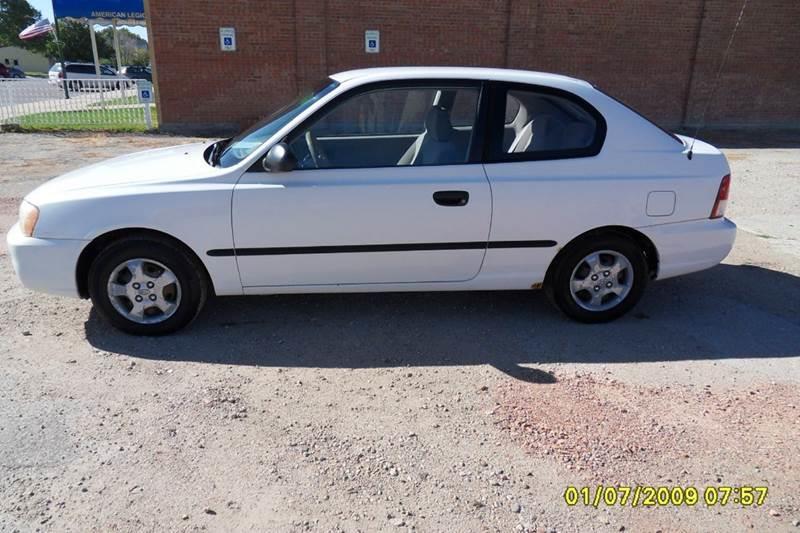 2002 Hyundai Accent L 2dr Hatchback   Chadron NE