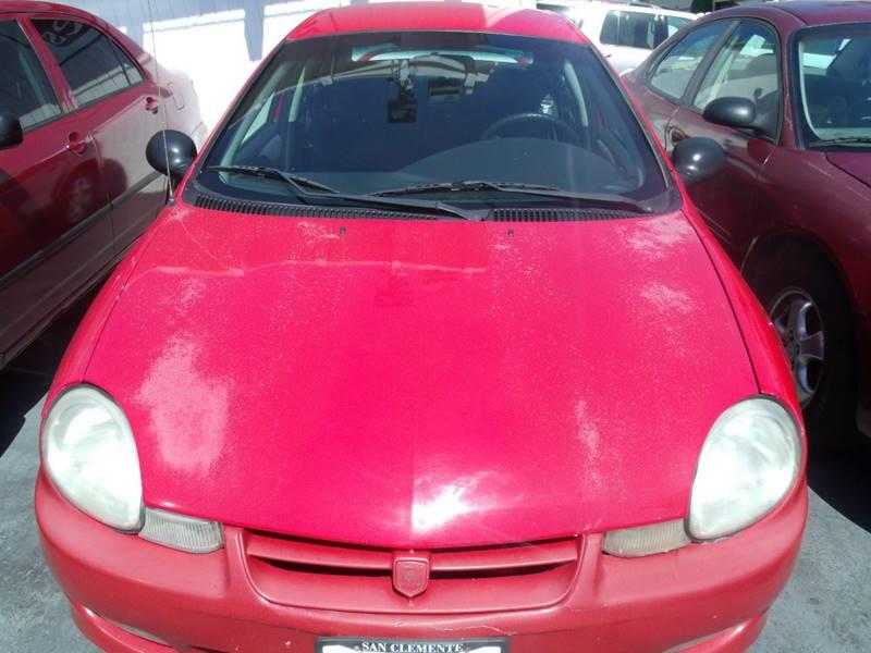 2002 Dodge Neon SXT 4dr Sedan - San Clemente CA