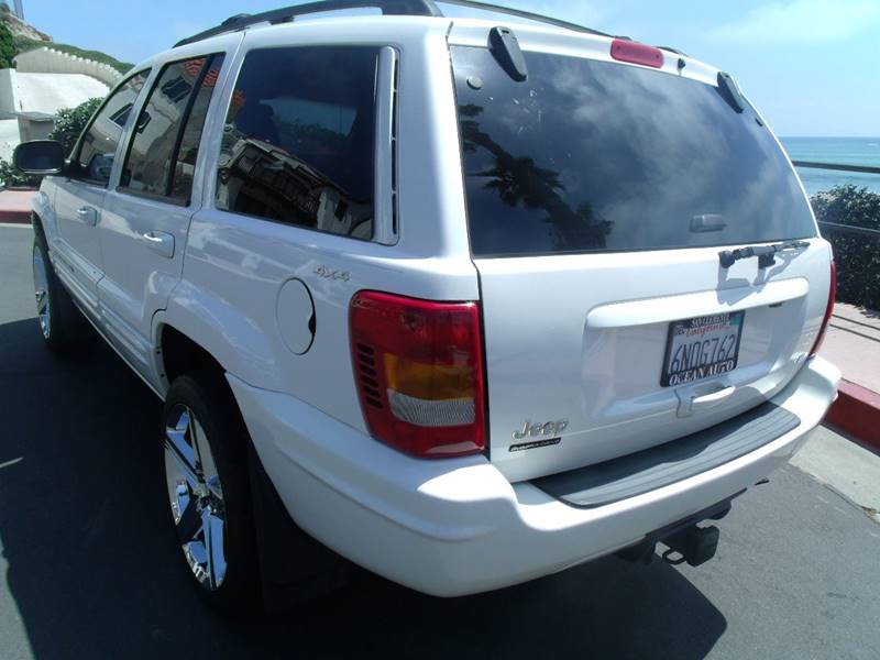 2000 Jeep Grand Cherokee 4dr Limited 4WD SUV - San Clemente CA