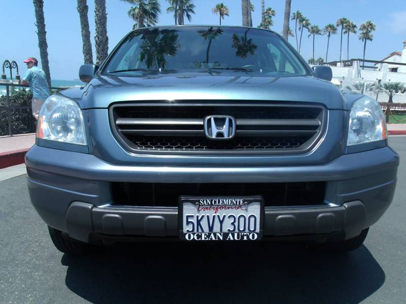 2005 Honda Pilot 4dr EX-L 4WD SUV w/Leather and Navigation System - San Clemente CA