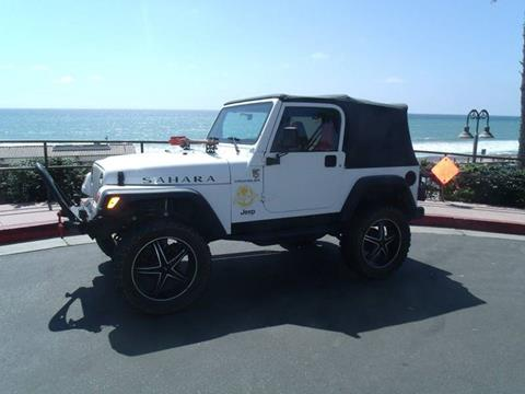 1998 Jeep Wrangler for sale in San Clemente, CA