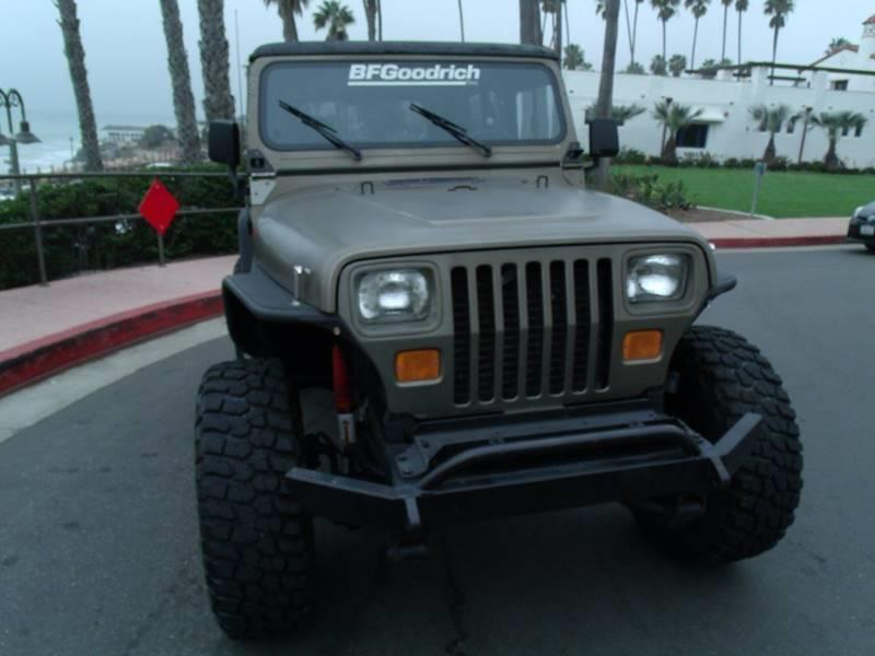 1988 Jeep Wrangler 2dr 4WD SUV - San Clemente CA