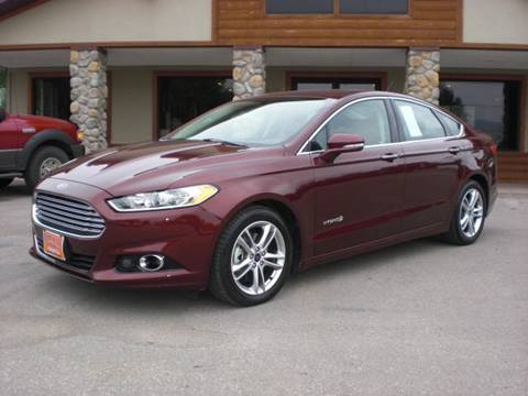 2015 Ford Fusion Hybrid for sale in Sheridan, WY