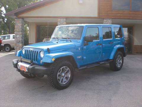 2014 Jeep Wrangler Unlimited for sale in Sheridan, WY