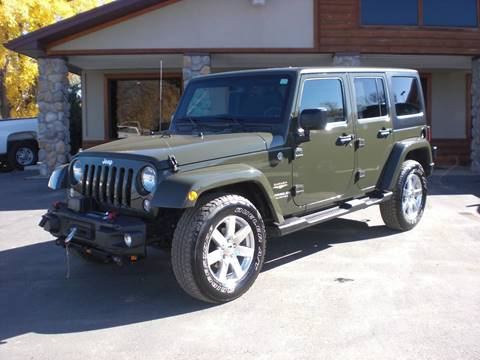 2015 Jeep Wrangler Unlimited for sale in Sheridan, WY