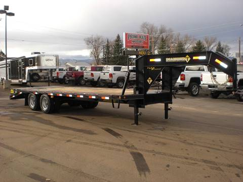 2020 Diamond-T 20+5 FLATBED TRAILER for sale at PRIME RATE MOTORS in Sheridan WY