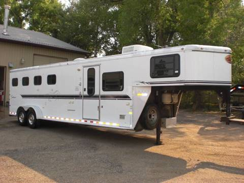 2003 SUNDOWNER 4-HORSE LIVING QUARTERS for sale in Sheridan, WY